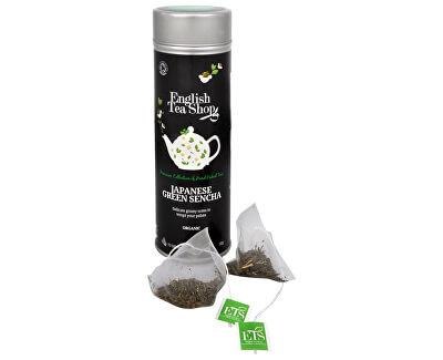 Japonský zelený čaj sencha BIO 15 pyramidek v plechovce