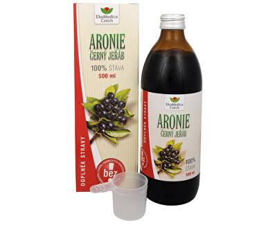 Arónie - 100% šťáva z plodu aronie černoplodé 500 ml