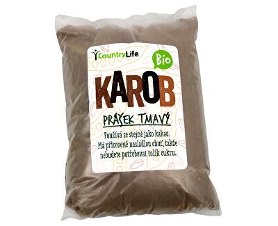 BIO Karobový prášek tmavý 500 g