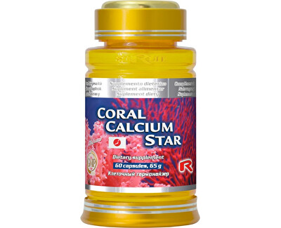 CORAL CALCIUM STAR 60 kapsúl