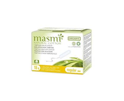 Tampóny z organické bavlny MASMI