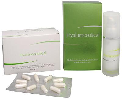Hyaluroceutical - hydratační biotechnologická emulze 30 ml + Hyaluroceutical 60 kapslí ZDARMA
