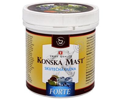 Koňská mast Forte chladivá 250 ml