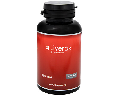 Liverax 60 kapslí