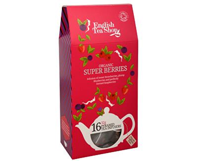 Super ovocný čaj Rooibos a červené ovoce 16 pyramidek