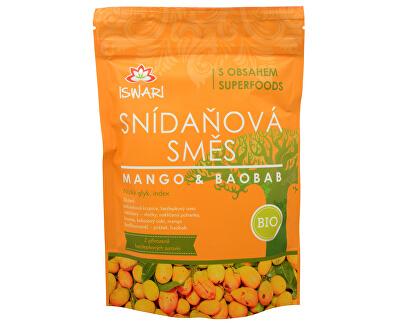 BIO Snídaňová směs Mango-Baobab