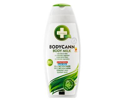 Bodycann přírodní tělové mléko 250 ml