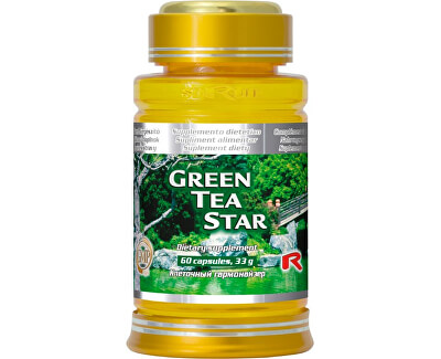 GREEN TEA STAR 60 kapslí
