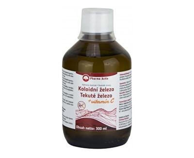 Koloidní železo + vitamín C liquid 300 ml