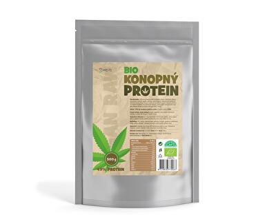 Konopný proteín 100% naturálna bio 500 g