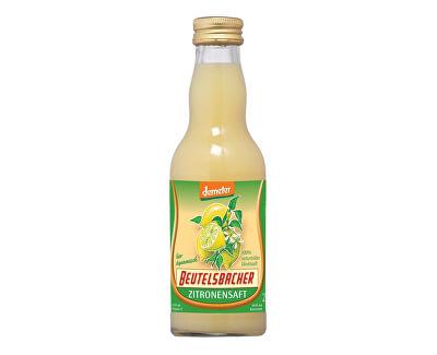 Bio Citronová šťáva 100% Beutelsbacher 0,2 l