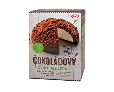 Čokoládová torta bez lepku + náplň 430 g