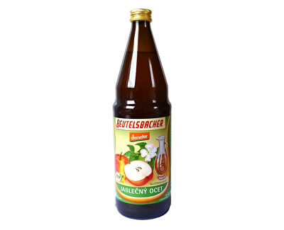 Bio Jablčný ocot nepasterizovaný 0,75l (vratná fľaša)