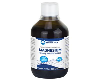 Tekutý horčík + vitamín C 300 ml