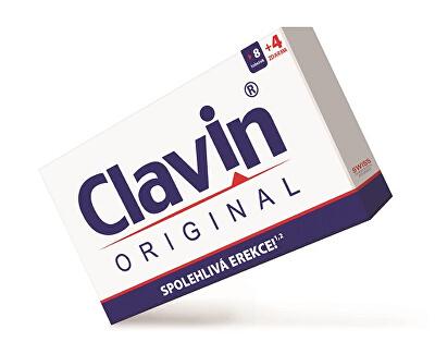 Clavin Original 8 tob. + 4 tob. ZADARMO