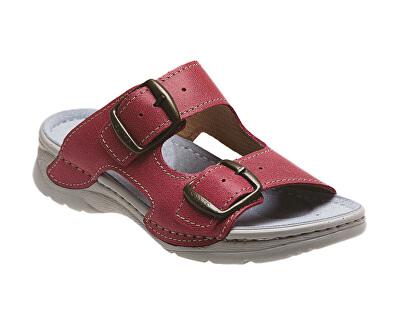 Zdravotní obuv dámská D/10/C30/SP světle červená