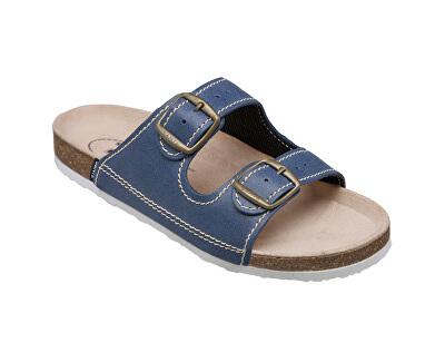 Zdravotní obuv dámská D/21/86/BP modrá