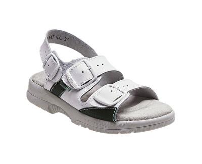 Zdravotní obuv Profi dámská N/517/43/10 bílá