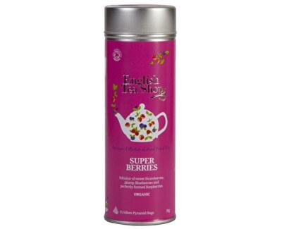 Super ovocný čaj BIO 15 pyramidek v plechovce
