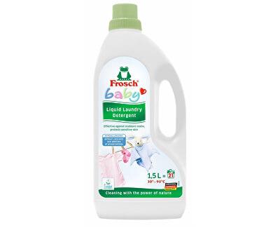 Hypoalergenní prací gel na kojenecké prádlo 1500 ml