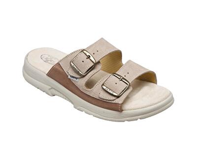 Zdravotní obuv pánská N/517/36/28/47/SP béžová