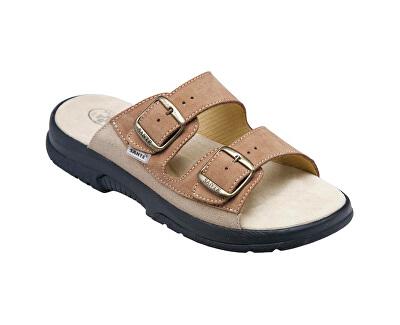 Zdravotní obuv pánská N/517/36/47/28/CP hnědá