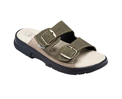 Zdravotní obuv pánská N/517/36/98/28/CP khaki