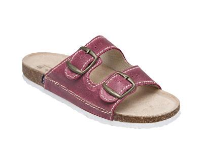 Zdravotná obuv dámska D / 21 / C32 / BP bordo