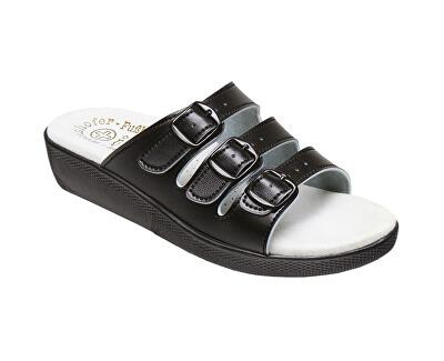 Zdravotná obuv dámska SI / 03D3 čierna