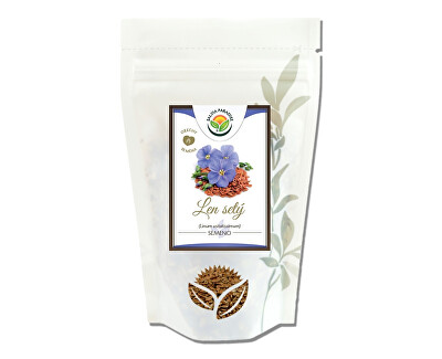 Ľanové semienko celé 300 g -ZĽAVA - KRÁTKA EXPIRÁCIA - 31.7.2021