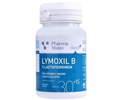 Lymoxil B s lactoferrinem 30 + 15 tobolek