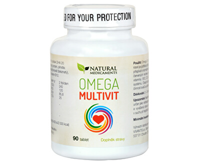 Omega Multivit 90 tablet