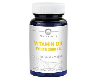 Vitamín D3 Forte 2000 IU 30 tablet