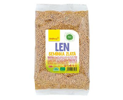 Ľanové semienko zlaté BIO