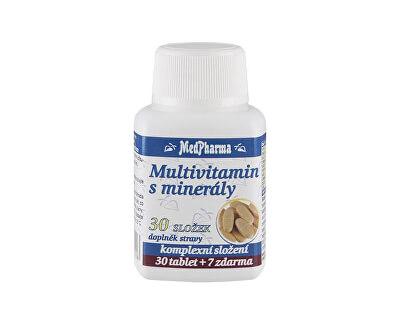 Multivitamin s minerály 30 složek 30 tbl. + 7 tbl. ZDARMA