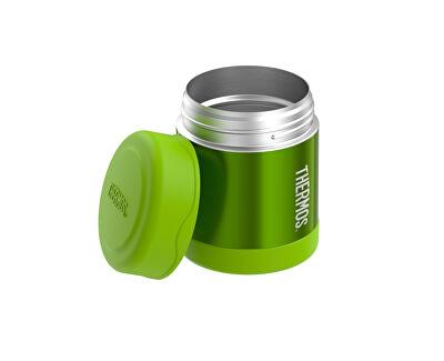 FUNtainer Dětská termoska na jídlo - limetková 290 ml