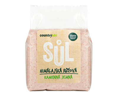 Soľ himalájska ružová jemná 1 kg
