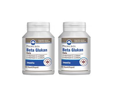 Beta Glukan Forte vitamín C a zinek 60 tablet 1+1