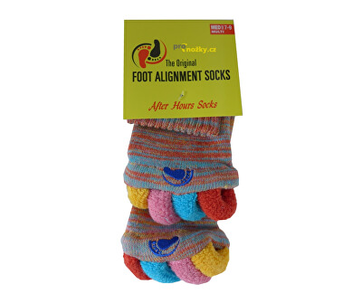 Adjustačné ponožky MULTICOLOR
