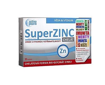Astina SuperZINC, 30 tablet