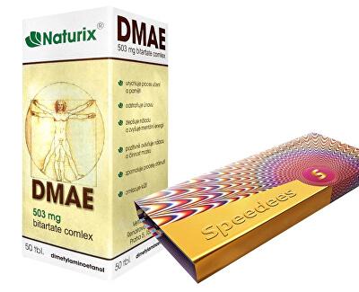 DMAE 50 tablet + Speedees 10 ks zvýhodněné balení