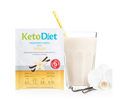 Proteínový nápoj príchuť vanilka 7 porcií -ZĽAVA KRÁTKA EXPIRÁCIA 11.8.2021