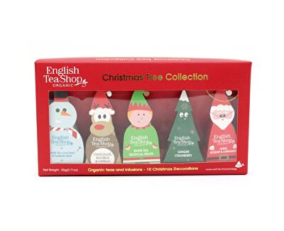 Vianočný stromček – kolekcia 10 pyramídok, 5 príchutí