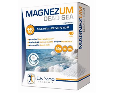 Magnezum Dead Sea 40 tbl.