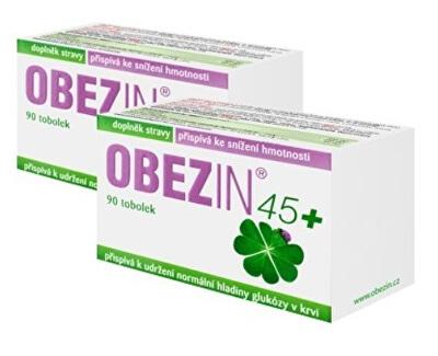 OBEZIN® 45+ mesačný chudnúce kôra 2 x 90 kapsúl