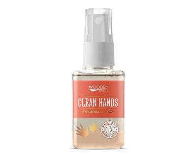 Prírodný čistiaci sprej na ruky WoodenSpoon 50 ml
