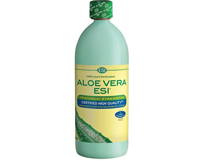 Aloe Vera čistá šťava 1 l -ZĽAVA - POŠKODENÁ odmerku