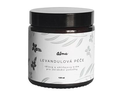 Telový a tvárový krém Levanduľová starostlivosť 120 ml