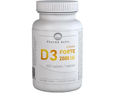 Vitamin D3 FORTE 2000 I.U. 100 tablet