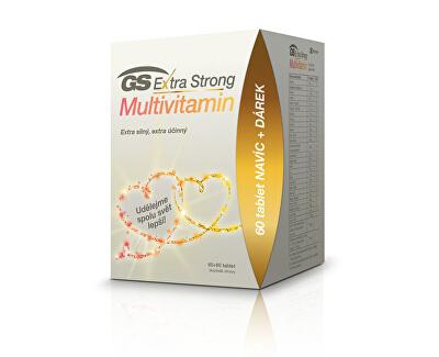 GS Extra Strong Multivitamin tbl. 60+60 edice 2020